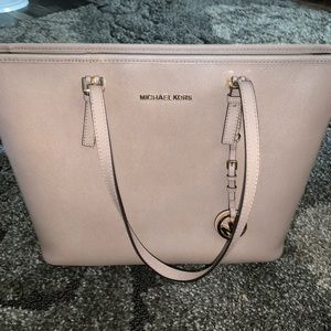 Michael Kors Nude/Pink Tote Bag